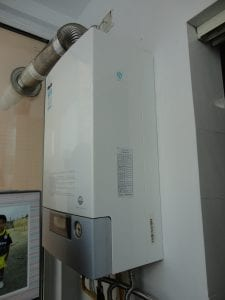 Working Water Heater